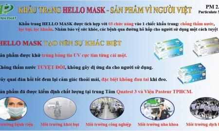Quảng Cáo Khẩu Trang Y Tế HELLO MASK